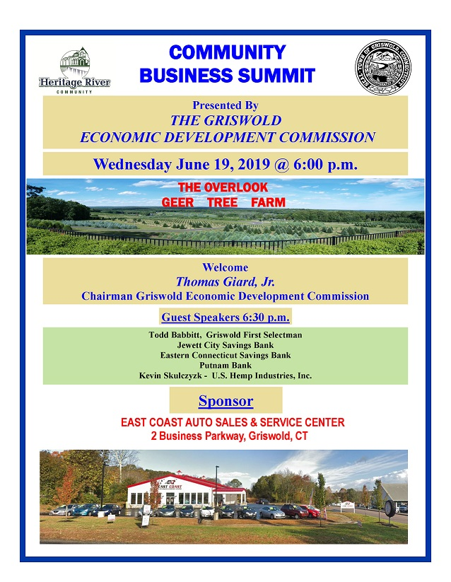 Annual EDC Business Summit, Griswold | Greater Norwich Area Chamber