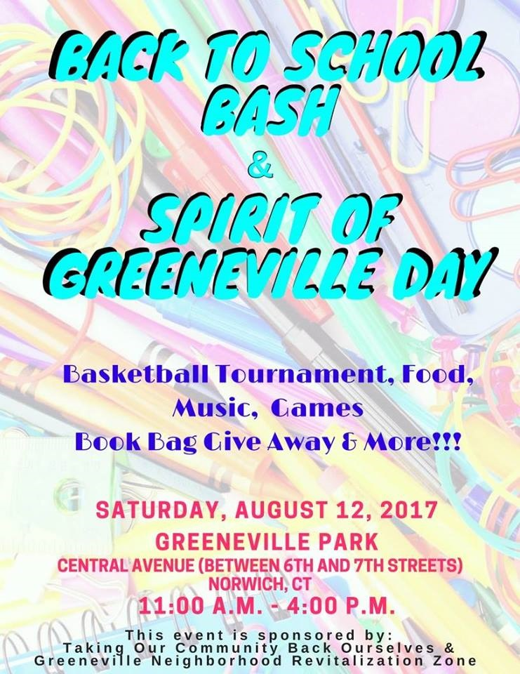 Back To School Bash Spirit Of Greeneville Day