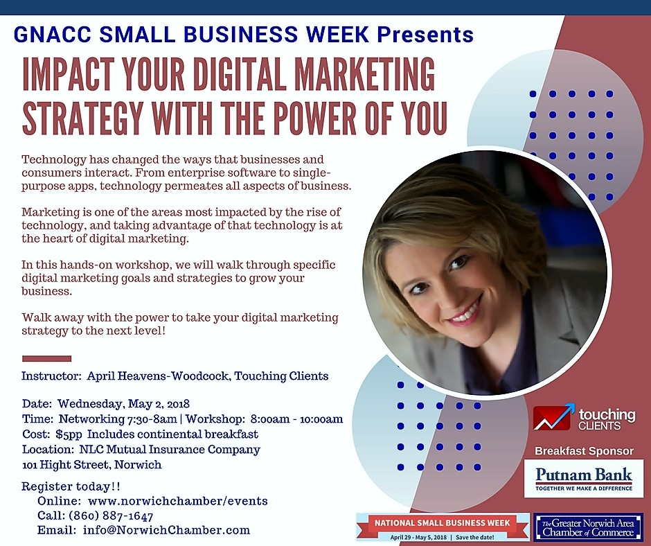 GNACC Small Business Week presents Impact Your Digital Marketing ...