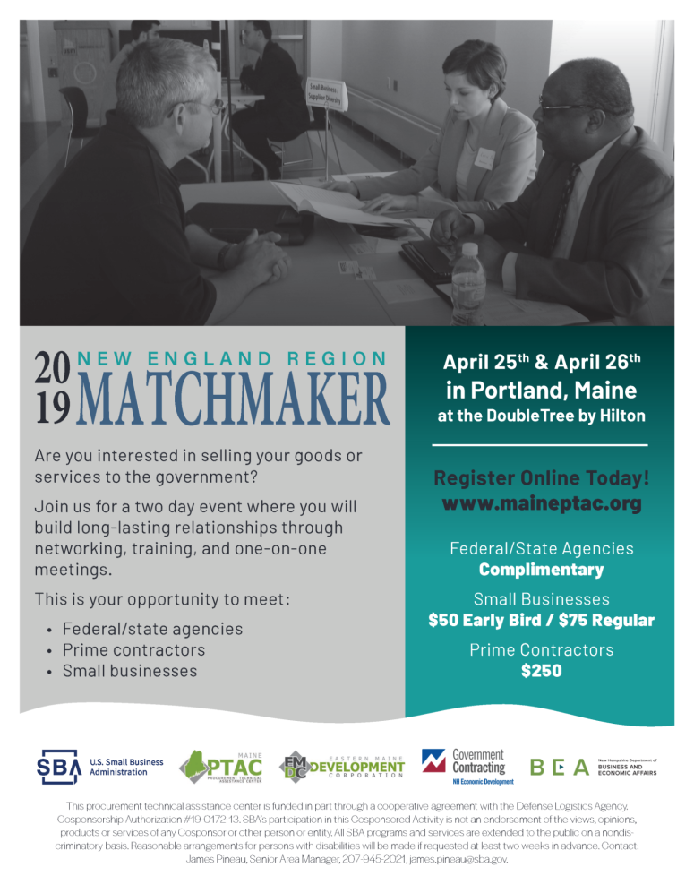 2019 New England Region Matchmaker | Greater Norwich Area